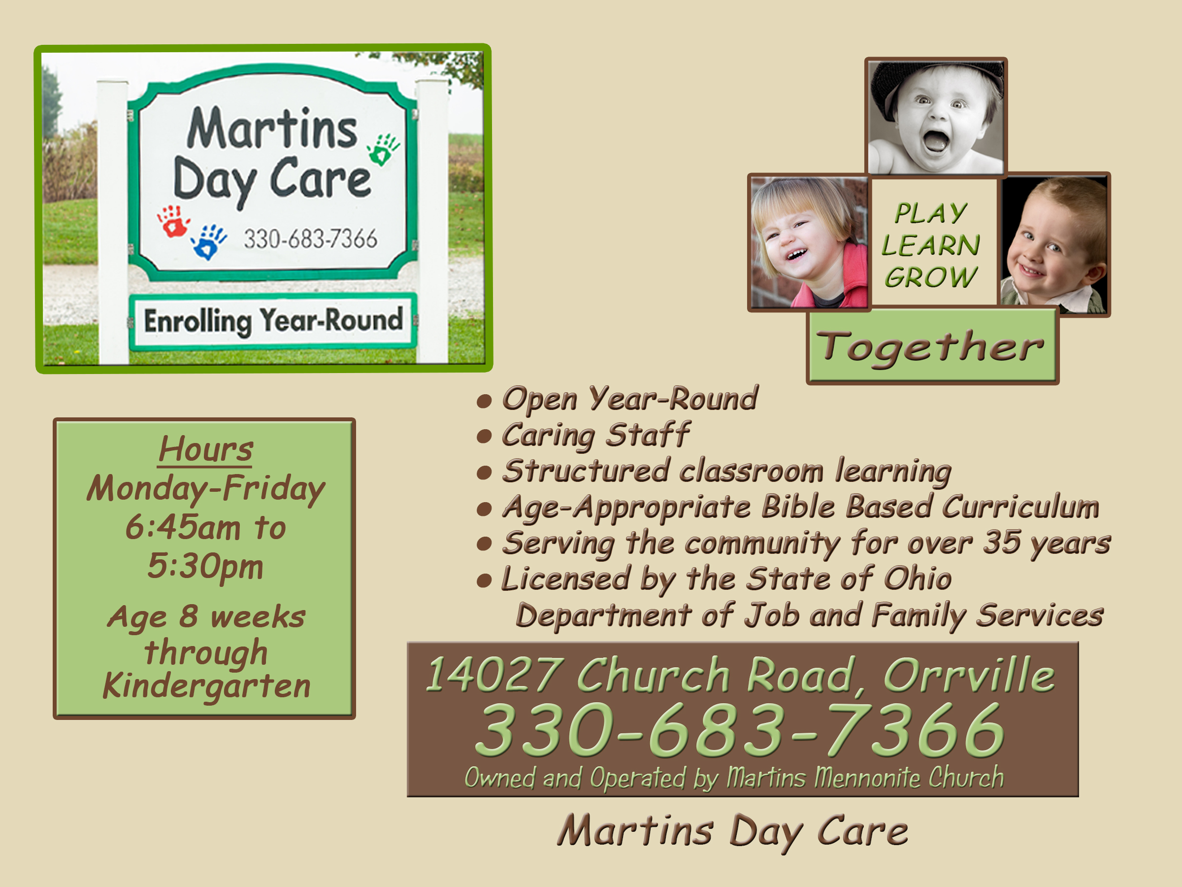 Martins Day Care